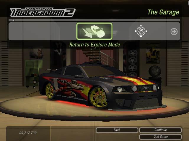 Mirru Nfs Need For Speed Underground 2 Cars